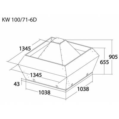 Вентилятор KORF KW 100 (КОРФ)