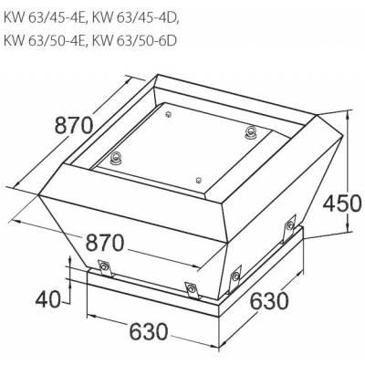 Вентилятор KORF KW 63 (КОРФ)